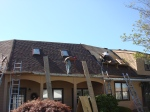 Installing asphalt roofing shingles - coil roofing nailers
